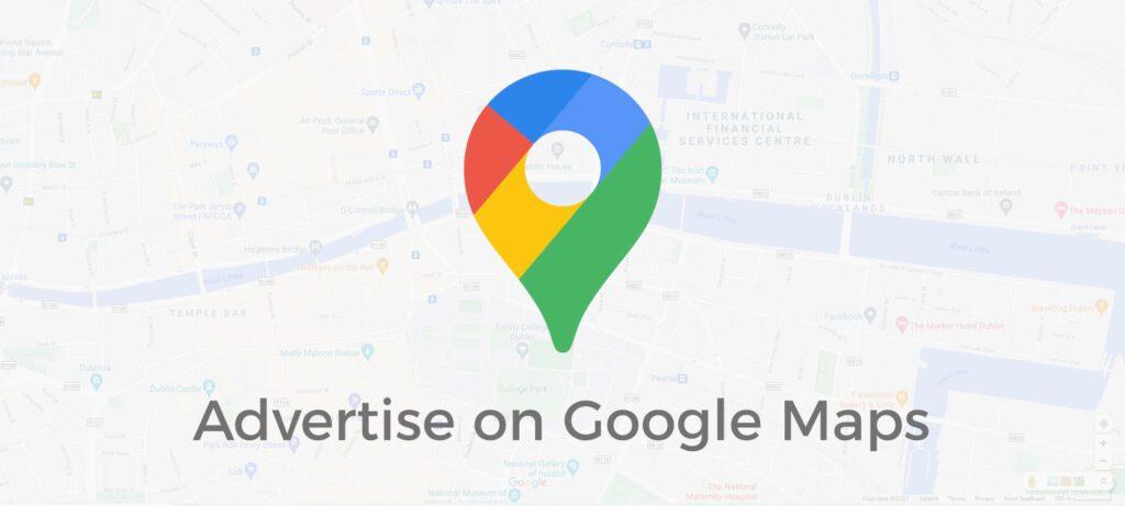 advertise on google maps