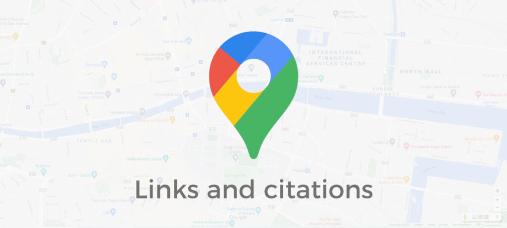 links and citations