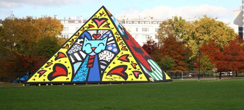 Romero Britto's work in London