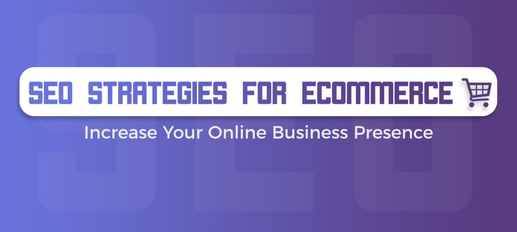 Design Relax SEO Strategy fpr ecommerce
