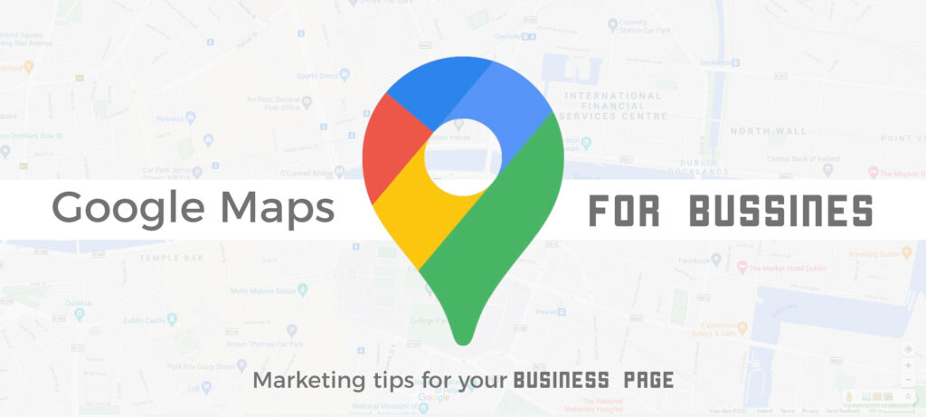 Google maps for business banner