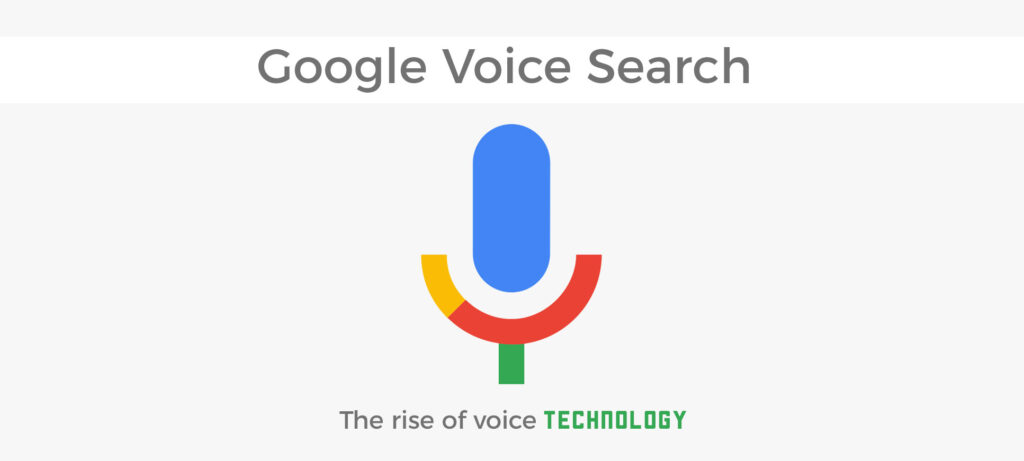 Google Voice Search Banner
